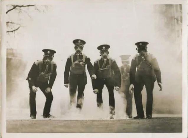 полицейские, учения