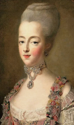 Marie Antoinette as Dauphin of France by Francois Hubert Dro