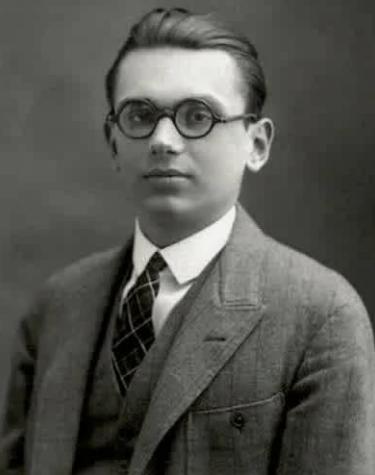 Курт Гедель, студент, 1925 год