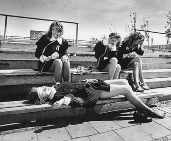 Последний звонок, Клайпеда, Литовская ССР, 1970–е
