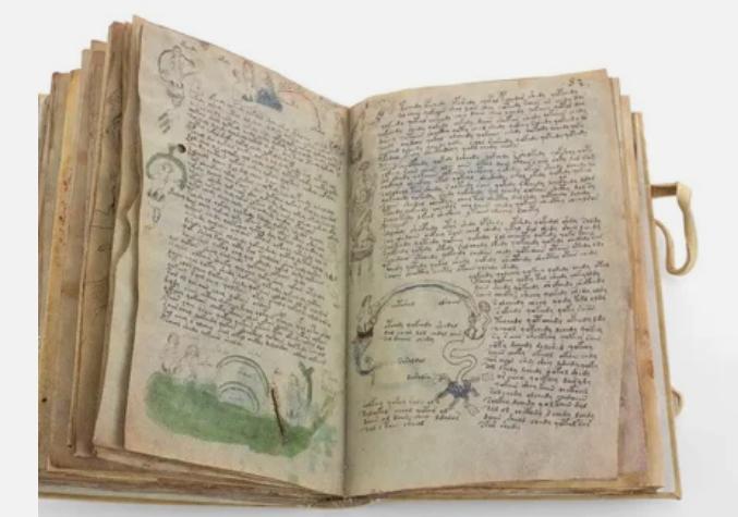 манускрипт Войнича - загадочная книга