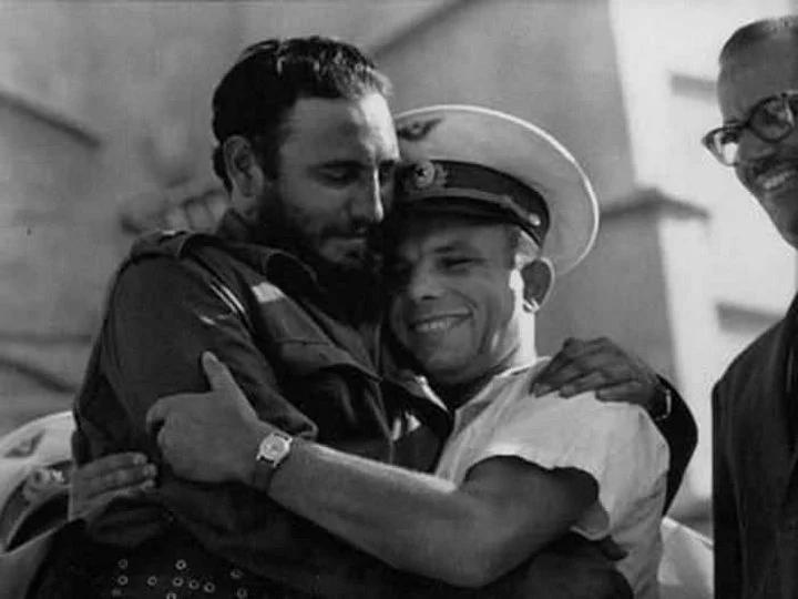 Гагарин, Кастро