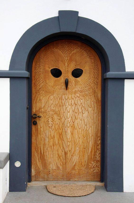 дверь, резка, дерево