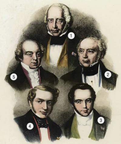 Мужчины рода Ротшильдов