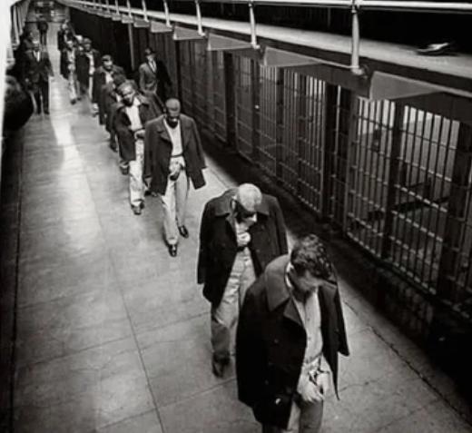 заключенные, тюрьма, Алькатрас