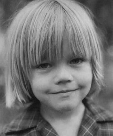 Ди Каприо, ребенок
