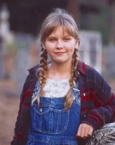 Данст, актриса, девочка, детство