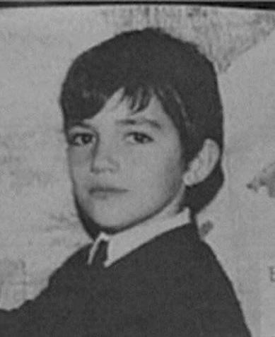 Бандэрас, мальчик, детство
