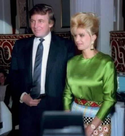 Бывшие супруги Дональд и Ивана Трамп/Фото: ©womensite.mediasole.ru