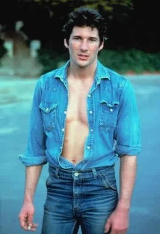Ричард Гир в 1978 году на съемках фильма/Фото: ©womensite.mediasole.ru