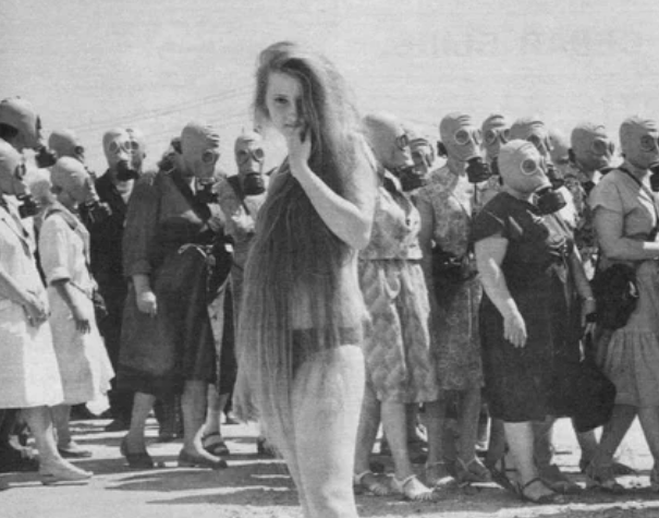Учебная тревога, 1962 год, Омская область