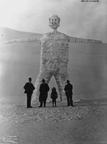 Снеговик, 1902 год, Аляска