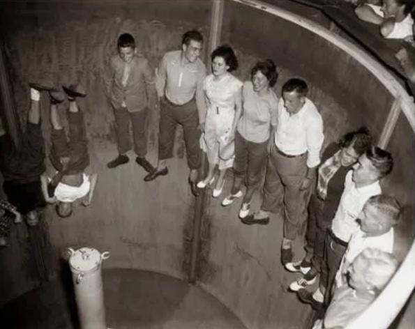Роторная карусель. США, 1950 год