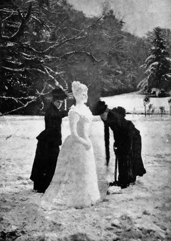 Снеговик, 1894 год, США