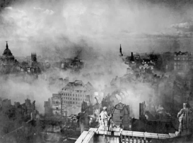 Немецкая бомбардировка Лондона