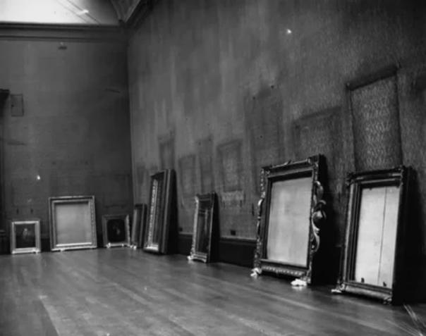 Во время Второй мировой войны из Национальной галереи вывезли экспонаты