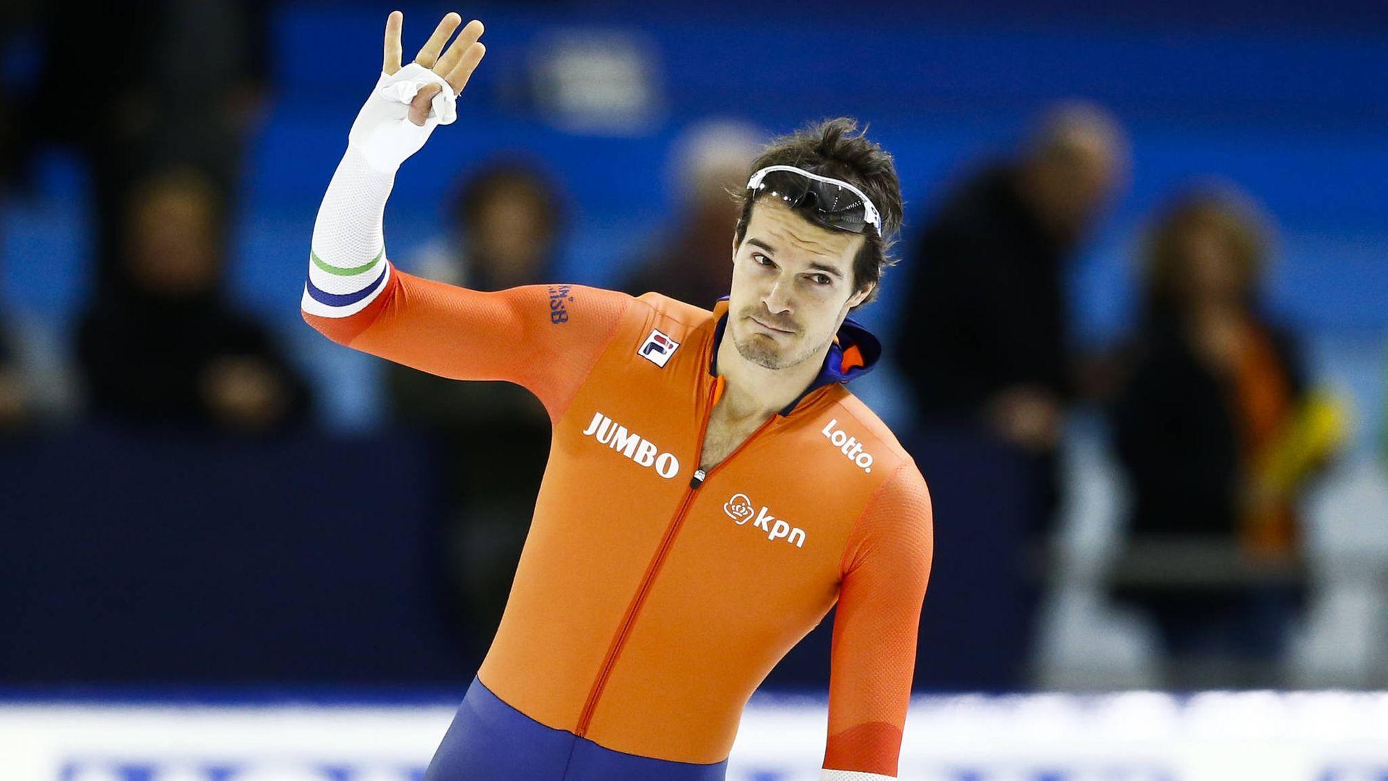 Оттерспер, спорт, конькобежец