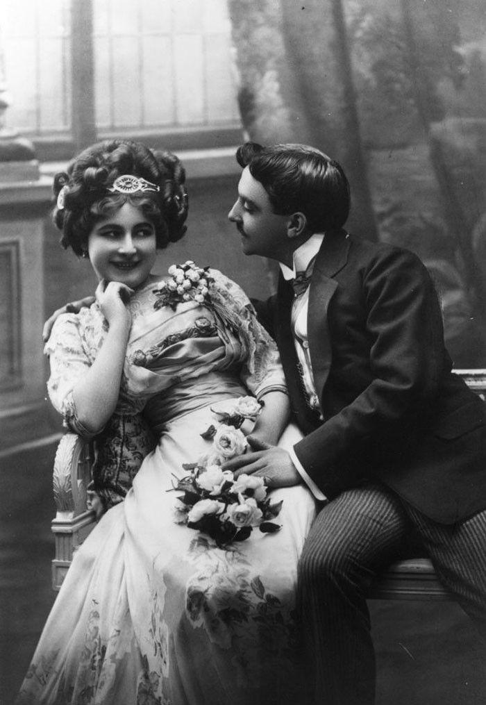 флирт в викторианские времена