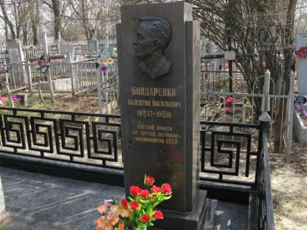 могила, кладбище, Бондаренко, космонавт