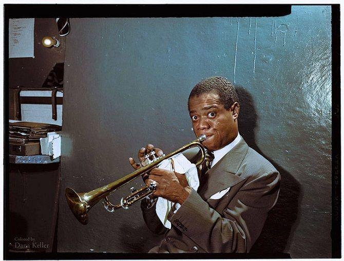 Армстронг, джаз, труба