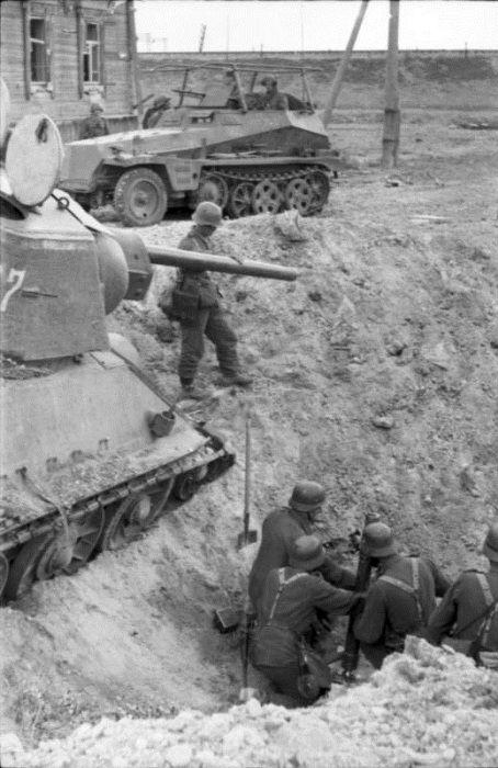 солдаты, немцы, гранатомет