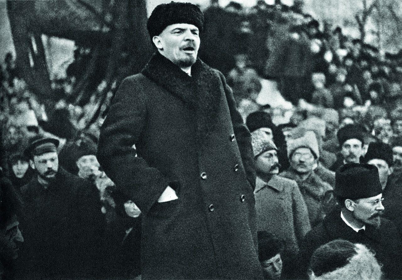 Ленин, вождь