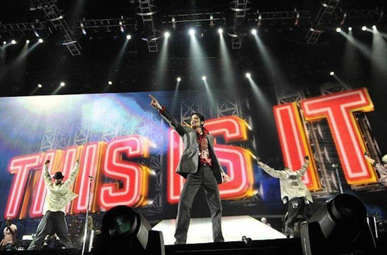 Последние репетиции завершающего тура Майкла Джексона / Фото: ©showbiz.mediasole.ru