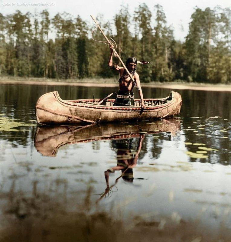 рыбалка, индеец