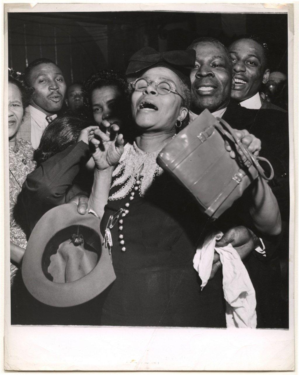 Снимок, сделанный в 1943 году называется «У нее есть дух». /Фото: © amber