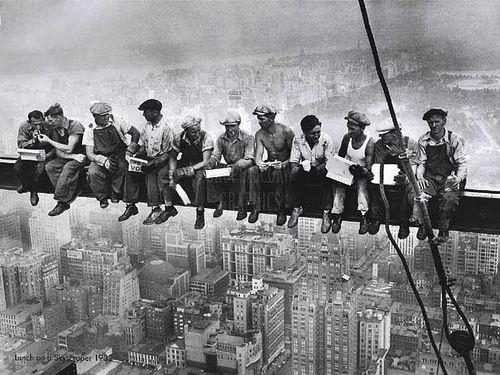 строители на высоте