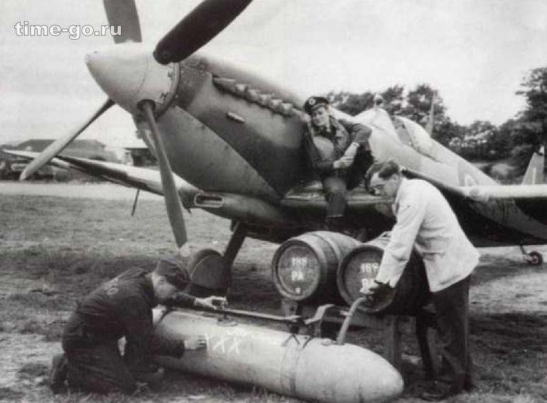 В Нормандию солдатам привозили пиво в топливных баках