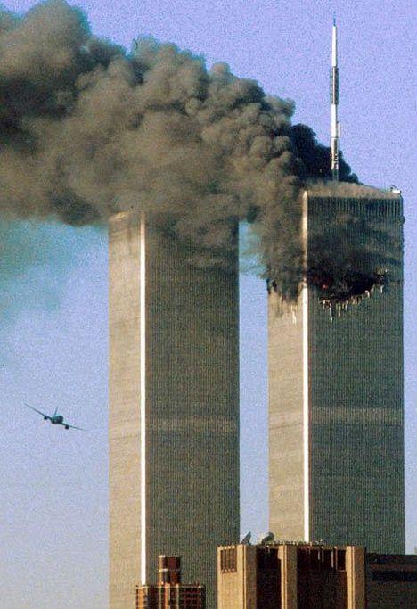 сбитые «Близнецы» в США 11 сентября 2001 года