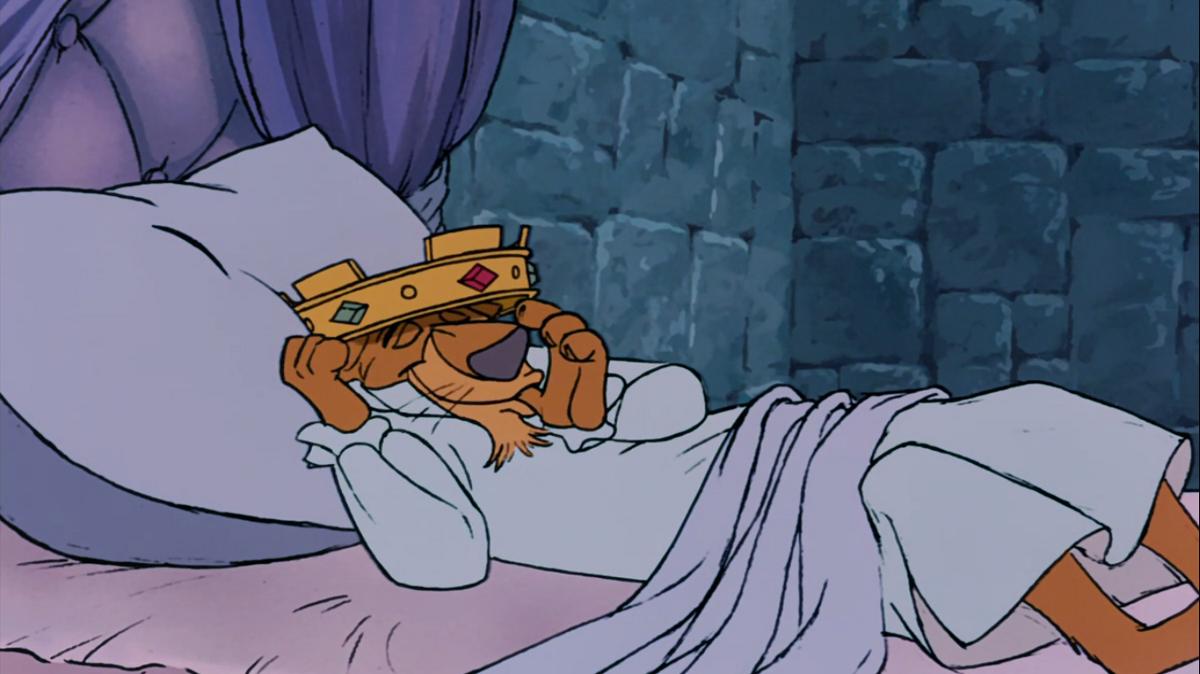 королевская поза для сна