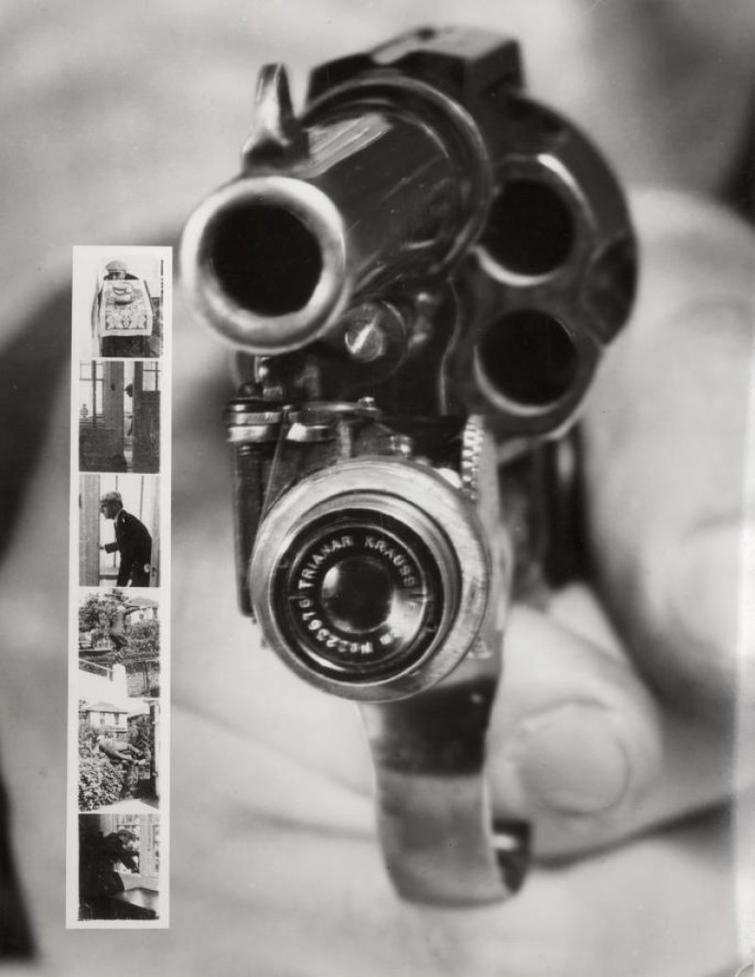 пистолет с фотоаппаратом