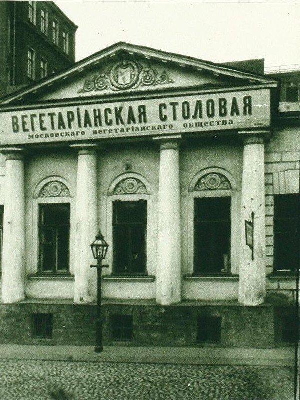 веганская столовая в москве