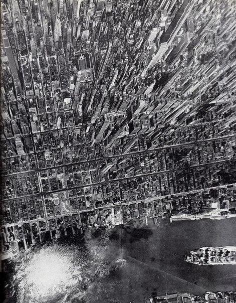 Манхэттен с высоты птичьего полета / Фото: ©mixnews.lv