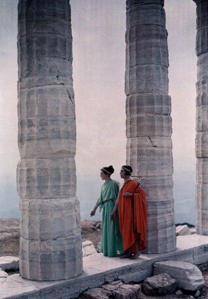 На руинах древнего храма / Фото: ©mixnews.lv