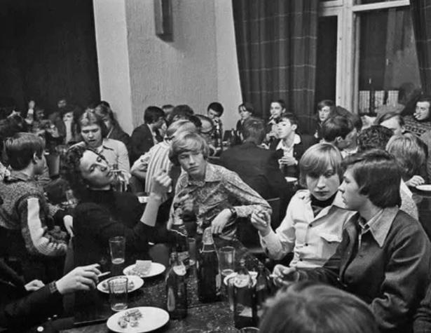 Вечер отдыха студентов первого курса, 26 октября 1978 года, г. Москва