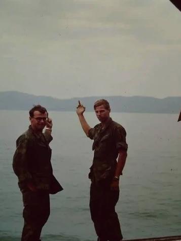 Американские солдаты покидают Вьетнам, февраль 1970 года