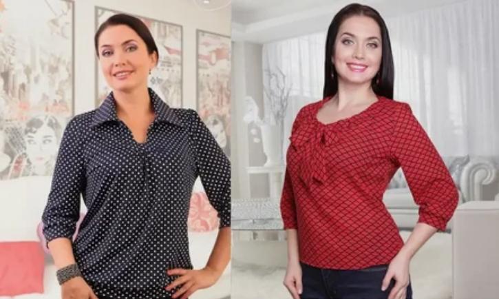 Выглядеть стильно и модно можно, если правильно выбрать блузу
