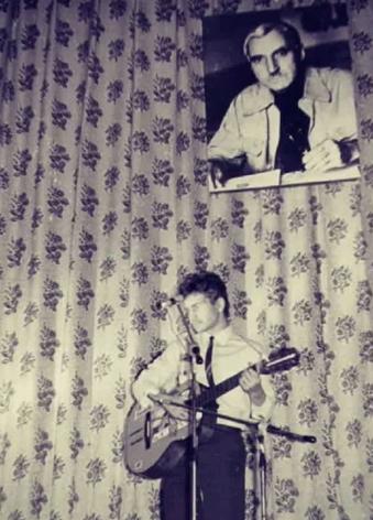 Леонид Агутин на вечере памяти Константину Симонову. Москва, 1984 год
