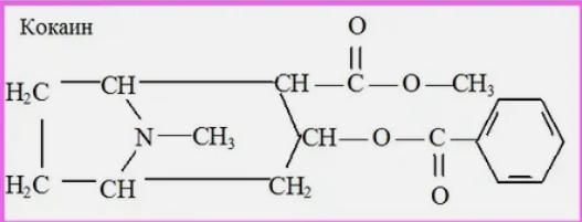 кокаин, формула