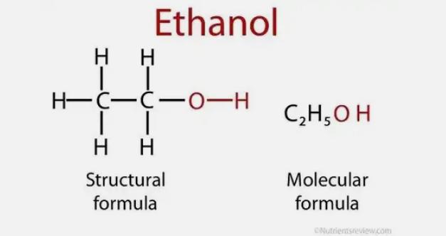 алкоголь, этанол, спирт, формула