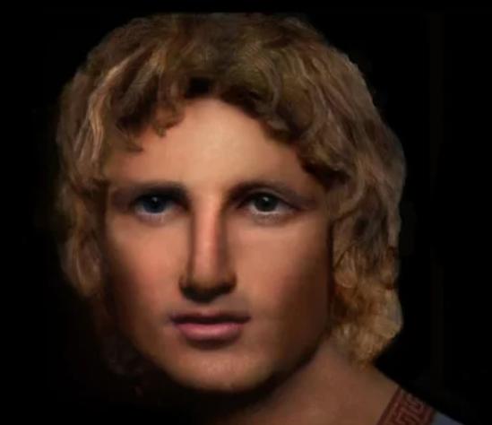 Воссозданное лицо Александра Македонского