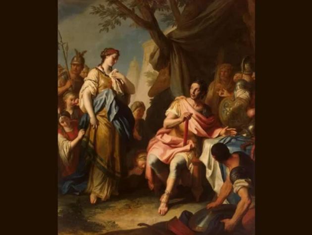 Роксана - первая жена Александра Македонского