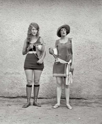 Стандарты красоты сто лет назад