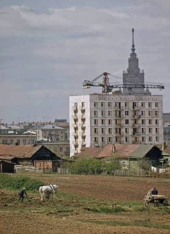 Сейчас уже не найти таких московских пейзажей / Фото: ©mixnews.lv