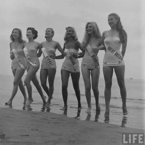 Вселенская красота 1952 года / Фото: ©mixnews.lv