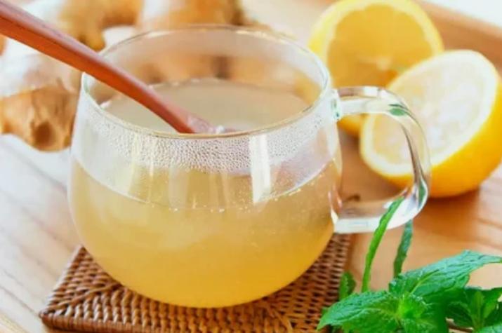Вариант имбирного чая с лимоном