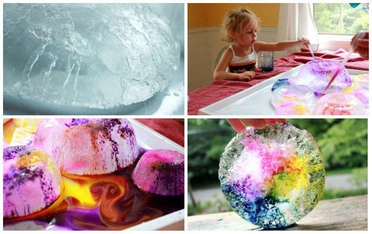 лед красочный